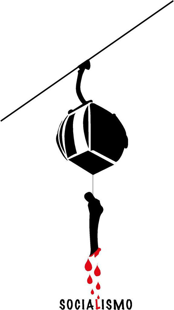 El teleférico por Hans Zerpa - para Un Mundo Sin Mordaza