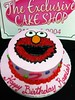 "Elmo cake • <a style=""font-size:0.8em;"" href=""http://www.flickr.com/photos/40146061@N06/5721703925/"" target=""_blank"">View on Flickr</a>"