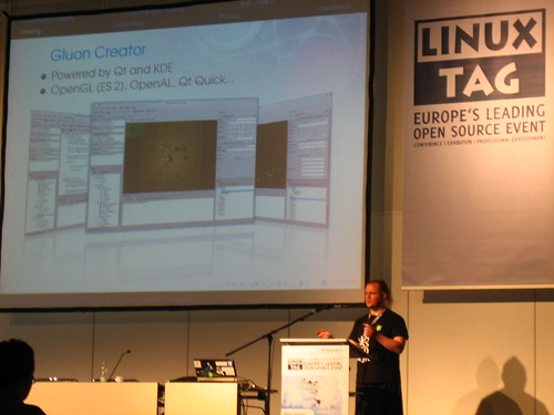 Gluon at LinuxTag Berlin 2011