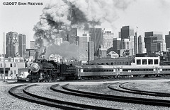 Steam in the city (samreevesphoto) Tags: california san francisco pacific southern sp 2472