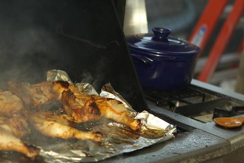 grillin' chicken