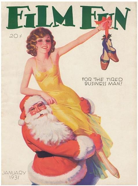 Film Fun Magazine, Enoch Bolles cover - 1931 01