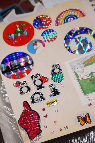 the gloved one and more holographic stickers