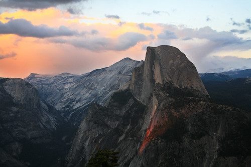 Photo of the Day: Half Dome Sunset by Carl Sax via Yosemite Blog Flickr Group.