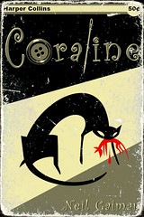 coraline - pulp fiction by mike r baker