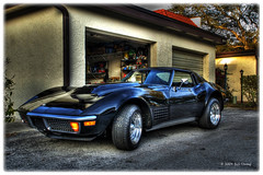 72 Vette (Bill Strong) Tags: chevrolet raw florida stingray chevy capecanaveral 1972 corvette hdr photooftheday chev 1exp gmfyi