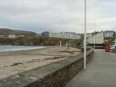Port Erin Beach from the promenade (Isle of Man Queenie Festival) Tags: beach isleofman porterin