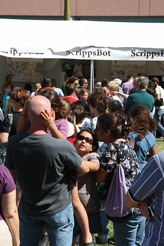 The line for the ScrippsBot