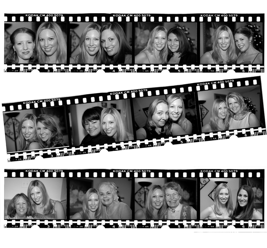 The Bridal Shower Film Strip