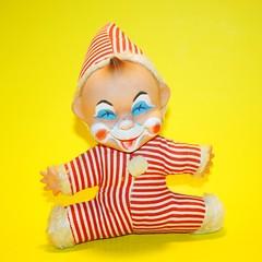 Clown Doll (ggmossgirl) Tags: face vinta