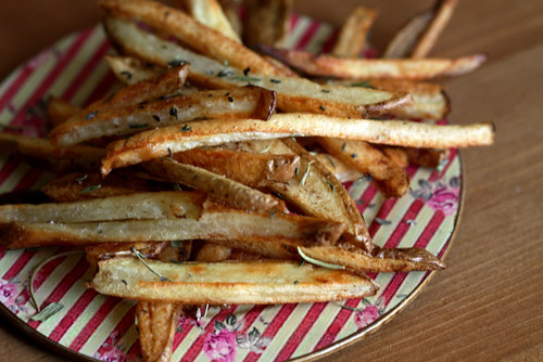 Oven Baked Fries with Herbes de Provence