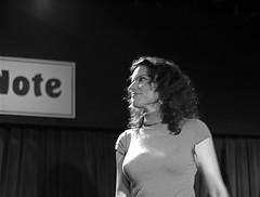 Roberta in black and white (Ed Newman) Tags: music newyork italian jazz singers jazzclub bluenote jazzsinger robertagambarini