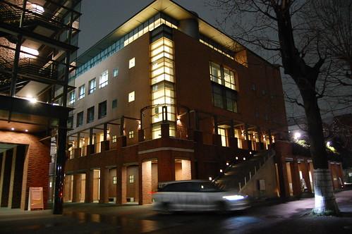 立教大学の夜景