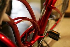 My ride 3 (geezlouise77) Tags: red bike bicycle cruiser electra electrabicycle retrorunner electracruiser electrabicyclecompany