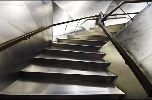 Futuristic stairs