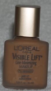 NEW l'oreal visible lift line minimizing makeup