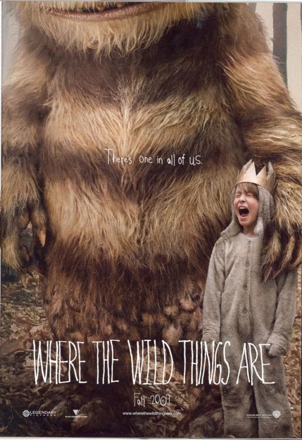 Where The Wild Things Are Movie Poster is Creepy