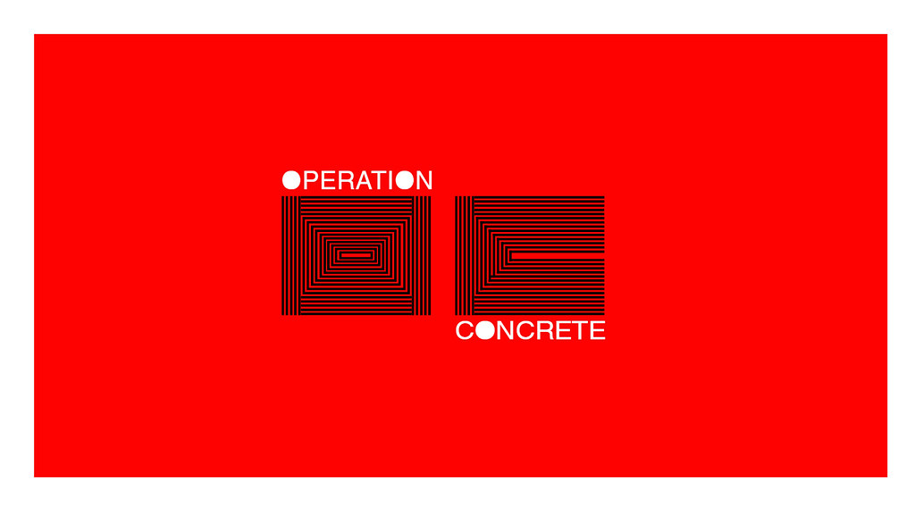 Operation concrete final logo