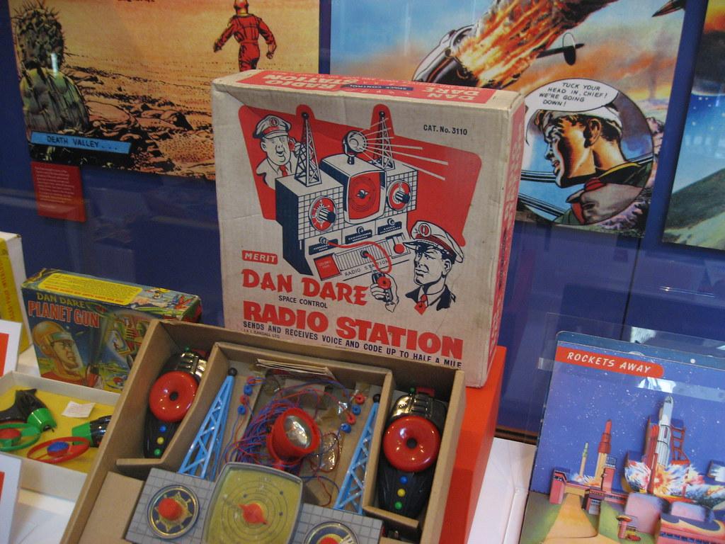 Original Dan Dare toys