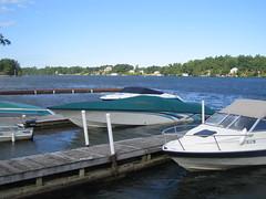 Boats (cgdecker) Tags: river boats dock stlawrenceriver