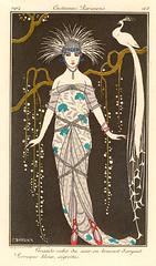 George_Barbier_Grande_Robe_du_Soir_en_Brocart_dArgent_872_35 (phoenixxx9000) Tags: 1920s artdeco flapper fashionillustration georgebarbier