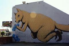 ericailcane (Luna Park) Tags: ca dog streetart car la losangeles eat lunapark ericailcane