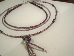 Delicate Multi-Strand Beaded Necklace - #22 (queenofdiy) Tags: diy doityourself jewelrymaking beadednecklace multistrandnecklace makingjewelry jewelrymakingtutorial necklacetutorial