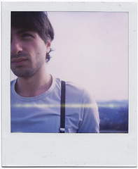.vintage boy. (andrenzo) Tags: blue portrait love film composition vintage polaroid sx70 photography photo dream line dreams intro 70 pola sx pellicola istantanea introcoso andrenzo andreacolombo introvertevent colomboandrea