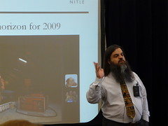 Bryan Alexander at Baylor Educational Technology Showcase 2009