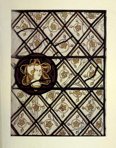 017- Detalle imagen vitral de San Gervasio