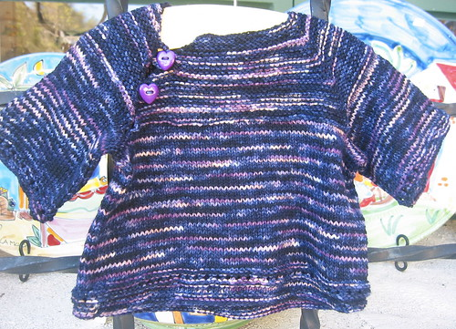 March Baby Sweater