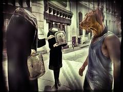 La Rencontre - The Encounter (GDiN) Tags: fab photomanipulation fantastic searchthebest surrealism digitalart soe otw supershot justimagine thelittledoglaughed platinumphoto godino theunforgettablepictures goldstaraward awardtree thetheatreoftheabsurd