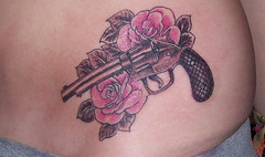 Gun & Rose Tattoo (Classic Ink Tattoo Studio) Tags: tattoo gunsroses rosetattoo gunrosetattoo