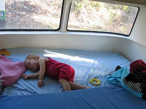 Caravan sleeping...
