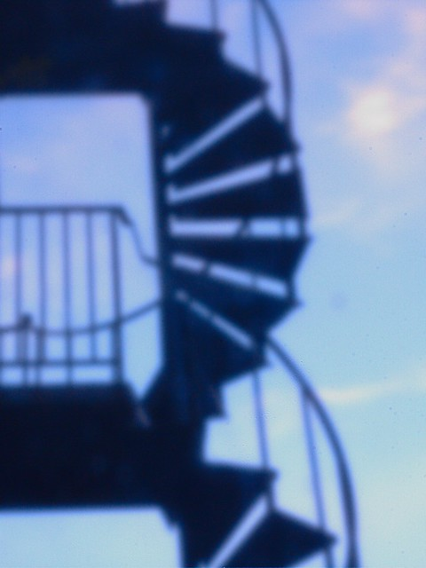 Pinhole Spiral Stairs