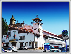 A Buen Puerto (Mynth) Tags: church port puerto iglesia bizkaia vizcaya basquecountry paisvasco bermeo santaeufemia