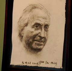Bernie Madoff  by Yan Pei-Ming  at San Francis...