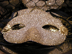 Glittered Masks! At Parcel!