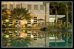 Casino Espaol (choui168) Tags: landscape nightshot swimmingpool cebu casinoespaol cebusugbo cebuphotoorg