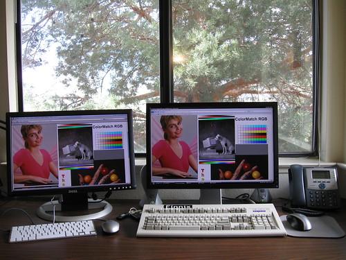 Dell 2005FPW & 2209WA