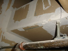 Asbestos Joint-Compound (Asbestorama) Tags: house home drywall apartment mud inspection mineral gypsum residential survey hazardous acm hazmat spackle sheetrock asbest dwelling contamination asbestos asbesto jointcompound amiante wallboard amianto