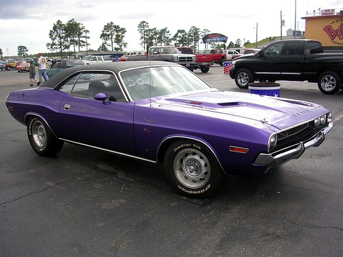 Purple 1970 Dodge Challenger