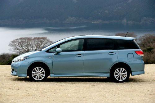 2010 Toyota Wish, rims