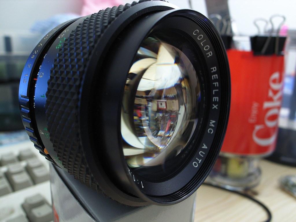 Color Reflex MC 1.2/55 F 試拍