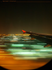 From the window of the plane   (Waleed Almotar) Tags: from window plane wing waleed         almotar