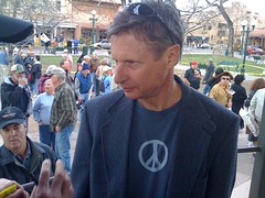 Former Gov. Gary Johnson at the SF TEA Party.