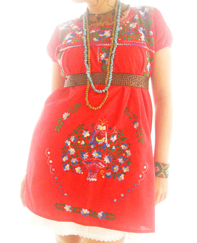 amor real dresses. Amor Mexico ethnic embroidered