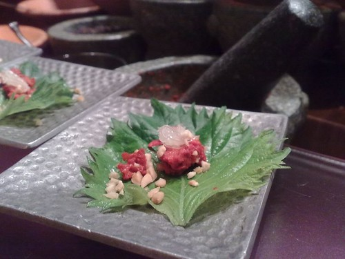 Some Thai shiso leaf thing
