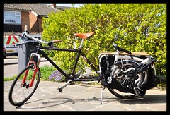 Xtracycle + Brompton