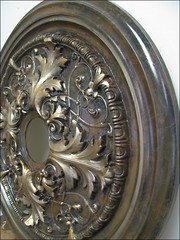 faux antiqued medallion (designs by Christina) Tags: medallion fauxfinish antiquing christinalong